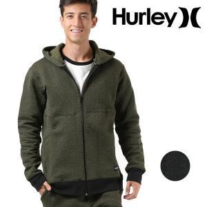 メンズ アウター ジャケット Hurley ハーレー AJ2225 ジップアップ パーカー ジップパーカー 軽量 軽い ウェア ニット フリース 春 冬 秋 FF3 H21 murasaki