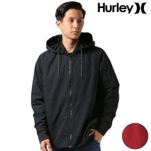 メンズ ジャケット ブルゾン Hurley ハーレー AJ2621 FF3 I18 murasaki