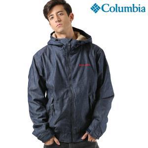 SALE セール メンズ ジャケット Columbia コロンビア PM3409 Loma Vista Denim hoodie ブルゾン FF3 J23|murasaki