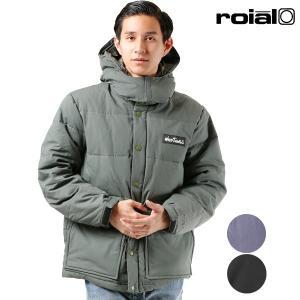 メンズ ダウンジャケット roial ロイアル R803MCO03 WILD THINGS アウター ダウン ジャケット コート ダウンコート FF3 K15 MM murasaki