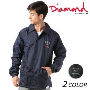 メンズ ジャケット Diamond Supply Co. ダイヤモンド サプライ NY OG SIGN COACH JKT Z18DMPK002CR FF1 D3|murasaki