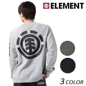 メンズ トレーナー ELEMENT エレメント AH022-P01 EX3 I26 murasaki