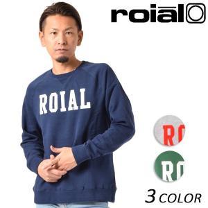 SALE セール メンズ トレーナー roial ロイアル FL249L FF1 A9|murasaki