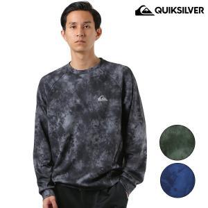メンズ トレーナー 長袖 Tシャツ QUIKSILVER クイックシルバー QPO184014 FX3 H28 murasaki