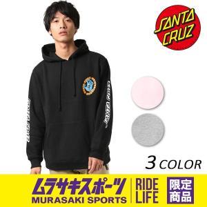 メンズ パーカー SANTA CRUZ サンタクルーズ HOOD SANTACRUZ SCREAM 50273304 ムラサキスポーツ限定 EE3 I26|murasaki