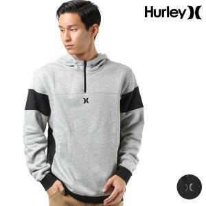 メンズ パーカー Hurley ハーレー AJ2232 ハーフジップアップ FF3 I28|murasaki