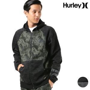 メンズ パーカー Hurley ハーレー AQ9140 ジップアップ FF3 I29|murasaki