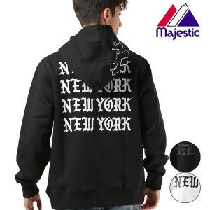 メンズ パーカー Majestic マジェスティック06-NY-8F09 長袖 トップス プルオーバー FX3 J16|murasaki