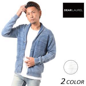 SALE セール メンズ カーディガン DEAR LAUREL ディアローレル 171304 FF1 L12|murasaki