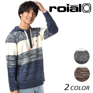 SALE セール メンズ パーカー ニット roial ロイアル KT55 EE3 I25|murasaki