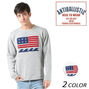 SALE セール メンズ セーター ANTIBALLISTIC アンティバルリスティック 181AN103002 FF1 L27|murasaki