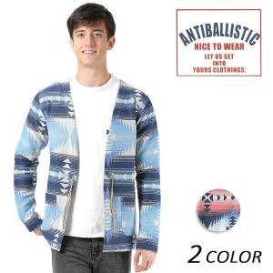 メンズ カーディガン ANTIBALLISTIC アンティバルリスティック 181AN105015 FF1 L28|murasaki