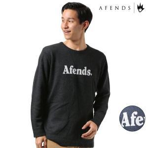 メンズ セーター AFENDS アフェンズ Fend 18C12-01 FF3 J2|murasaki