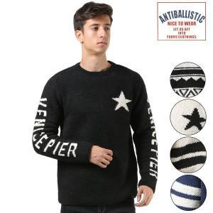 メンズ セーター ANTIBALLISTIC アンティバルリスティック 184AN1KN011 FF3 J1|murasaki