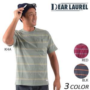 メンズ 半袖 Tシャツ DEAR LAUREL ディアローレル 14711107 EE1 D14|murasaki