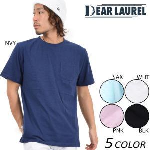 メンズ 半袖 Tシャツ DEAR LAUREL ディアローレル 14711109 EE1 D18|murasaki