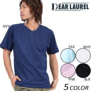 メンズ 半袖 Tシャツ DEAR LAUREL ディアローレル 14711110 EE1 D18|murasaki