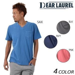 メンズ 半袖 Tシャツ DEAR LAUREL ディアローレル 14711104 EE1 F21|murasaki