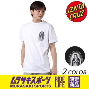 メンズ 半袖 Tシャツ SANTA CRUZ サンタクルーズ GUDALUUPE INKED 50273402 ムラサキスポーツ限定 EE3 H21|murasaki