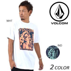 SALE セール メンズ 半袖 Tシャツ VOLCOM ボルコム RAGER A3531705 EE3 G24 murasaki
