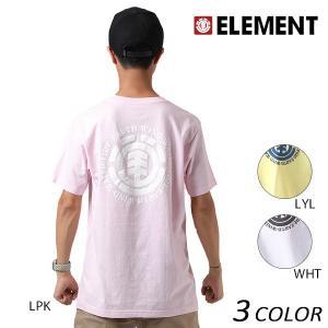 SALE セール メンズ 半袖 Tシャツ ELEMENT エレメント AH022-200 F1S D28|murasaki