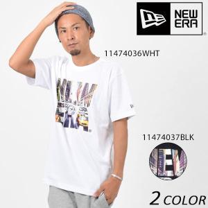 SALE セール メンズ 半袖 Tシャツ NEW ERA ニューエラ CITY LANDSCAPE EE3 H20|murasaki