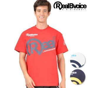 SALE セール メンズ トップス 半袖 Tシャツ Real.B.Voice リアルビーボイス 10021-10020 春 夏 春夏 ロゴ プリント FF1 F28|murasaki