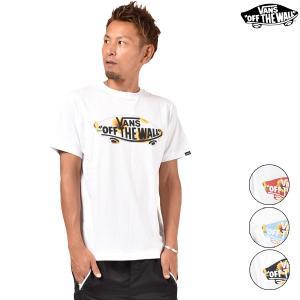 メンズ トップス 半袖 Tシャツ VANS バンズ VA18HS-MT51MS ムラサキスポーツ限定 プリント ロゴ カジュアル 春 夏 FF3 G12|murasaki