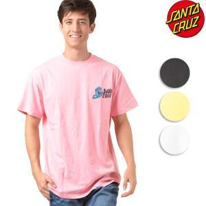 SALE セール メンズ 半袖 Tシャツ SANTA CRUZ サンタクルーズ S/S Tシャツ SCREAMER 50281408 ムラサキスポーツ限定 FF1 D12|murasaki