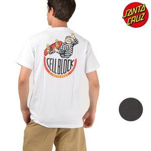 SALE セール メンズ トップス 半袖 Tシャツ SANTA CRUZ サンタクルーズ CELL BLOCK 50281411 ムラサキスポーツ限定 FF1 F28|murasaki