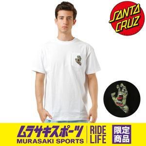 SALE セール メンズ 半袖 Tシャツ SANTA CRUZ サンタクルーズ CAMO HAND 50282401 ムラサキスポーツ限定 FF2 E19|murasaki