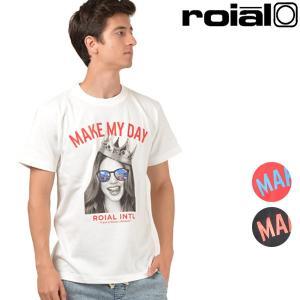 メンズ 半袖 Tシャツ roial ロイアル R802MLTD05 ムラサキスポーツ限定 FF3 F30|murasaki