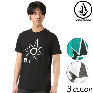 SALE セール メンズ 半袖 Tシャツ VOLCOM ボルコム Stone Star S/S Tee ストーンスター A50118JD FF1 B22|murasaki
