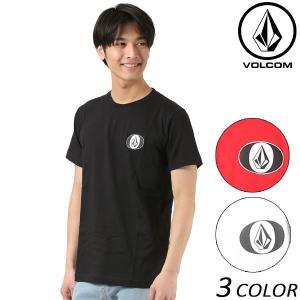 SALE セール メンズ 半袖 Tシャツ VOLCOM ボルコム Oh Stone S/S Tee オーストーン A50118JE FF1 B22|murasaki