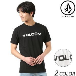 SALE セール メンズ 半袖 Tシャツ VOLCOM ボルコム Basic Logo 2 S/S Tee ベーシックロゴ2 A50118JF FF1 B22|murasaki