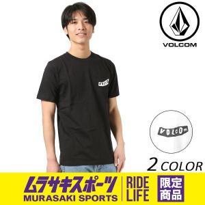 SALE セール メンズ 半袖 Tシャツ VOLCOM ボルコム Pistol Round S/S Tee ピストルラウンド A50118JO ムラサキスポーツ限定 FF1 B22|murasaki