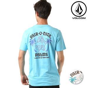 SALE セール メンズ 半袖 Tシャツ VOLCOM ボルコム Pair -O- Dice S/S Tee A5021806 FF2 F11|murasaki