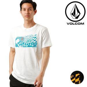 SALE セール メンズ 半袖 Tシャツ VOLCOM ボルコム Cancel History S/S Tee A50218JF FF2 E21 MM|murasaki