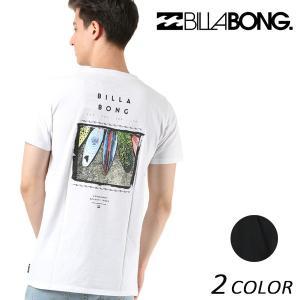 メンズ トップス 半袖 Tシャツ BILLABONG ビラボン AI011-214 FX1 B15 MM murasaki
