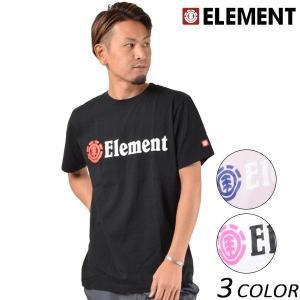 メンズ 半袖 Tシャツ ELEMENT エレメント AI021-200 FX1 A9 murasaki
