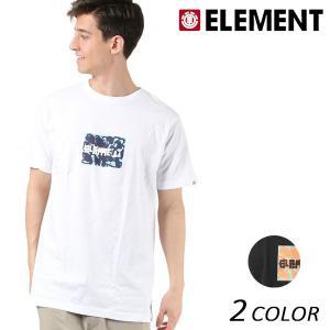 メンズ トップス 半袖 Tシャツ ELEMENT エレメント AI021-201 FX1 B15 MM murasaki