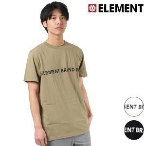 SALE セール メンズ 半袖 Tシャツ ELEMENT エレメント AI021-206 FX1 B24 murasaki