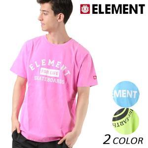 メンズ トップス 半袖 Tシャツ ELEMENT エレメント AI021-209 FX1 B15 MM murasaki