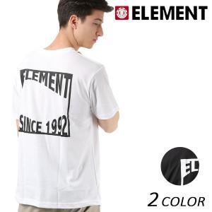メンズ トップス 半袖 Tシャツ ELEMENT エレメント AI021-219 吸汗速乾 FX1 B15 MM murasaki