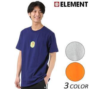 SALE セール メンズ 半袖 Tシャツ ELEMENT エレメント AI021-223 FX1 B24 murasaki