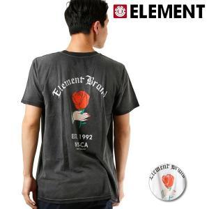 SALE セール メンズ 半袖 Tシャツ ELEMENT エレメント AI021-235 FX2 E23 murasaki