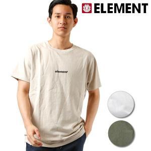 SALE セール メンズ 半袖 Tシャツ ELEMENT エレメント AI021-241 FX2 E23 murasaki