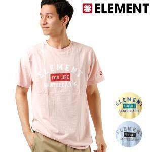 SALE セール メンズ 半袖 Tシャツ ELEMENT エレメント AI021-251 FX2 E23 murasaki