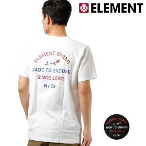 SALE セール メンズ 半袖 Tシャツ ELEMENT エレメント AI021-257 FX2 E23 murasaki