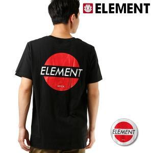 SALE セール メンズ 半袖 Tシャツ ELEMENT エレメント AI021-258 FX2 E23 murasaki